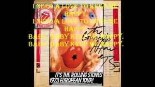 Happy The Rolling Stones Lyrics