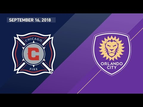 HIGHLIGHTS: Chicago Fire Vs. Orlando City SC | September 16, 2018