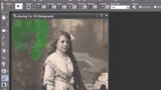 Видеоурок «Раскрашивание фотографий вручную»