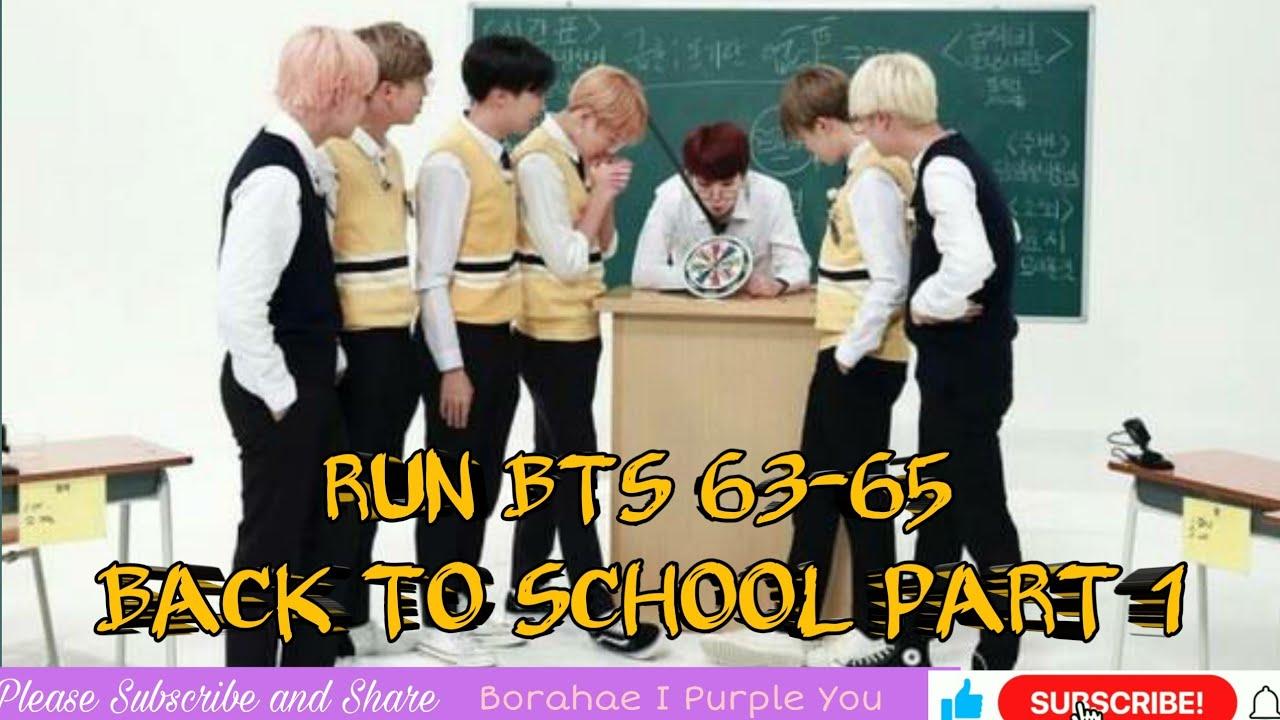 Download RUN BTS EP 63-65  ENG SUB FULL EPISODES   BACK TO SCHOOL PART 1  RM, JIN, SUGA, J-HOPE, JIMIN, V, JK