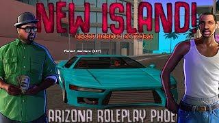 Arizona RP Phoenix #2 - ПОКАТУШКИ! ОБЗОР НОВОГО ОСТРОВА! NEW ISLAND!