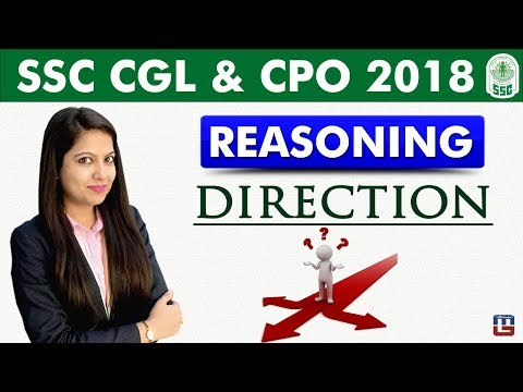 Direction | Reasoning | SSC CGL | CPO 2018