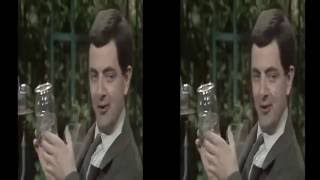 The Curse of Mr  Bean in 3D (SBS)