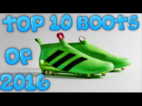Top 10 football boots of 2016