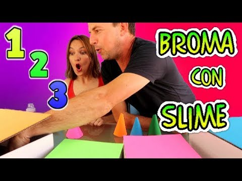 1 2 3 Slime!! UN DOS TRES SLIME!! +Broma con Slime!! No te Aburras.