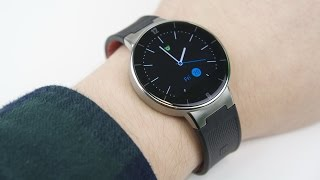 Обзор часов Alcatel OneTouch Watch: доступный ответ Moto 360 (review)