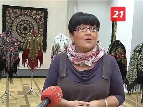 Хочу все знать №278  Павлопосадские платки