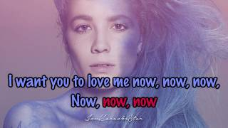 Halsey - Now Or Never [Karaoke/Instrumental]