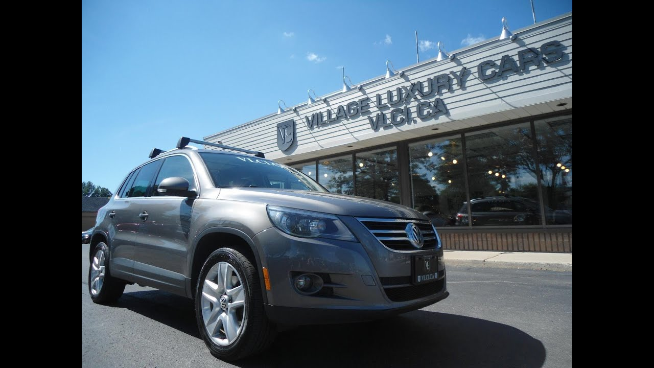 2011 Volkswagen Tiguan 4motion In Review Village Luxury Cars