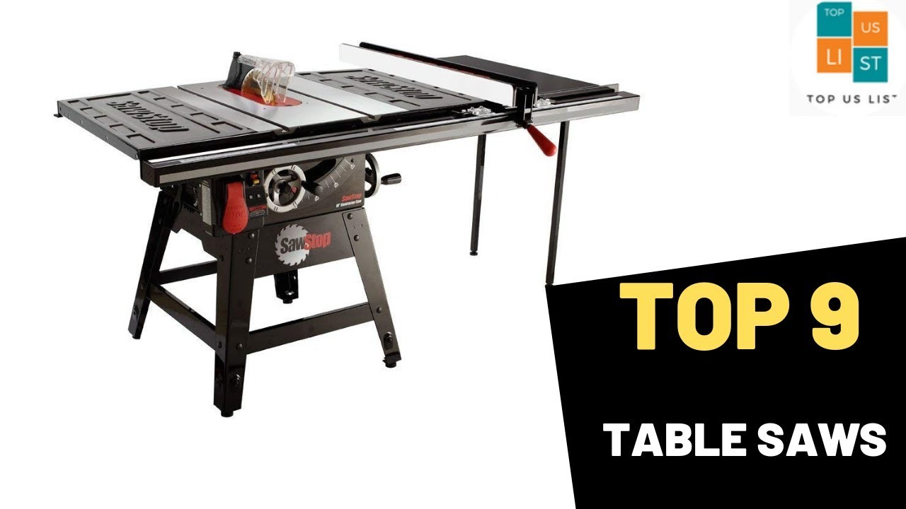 Best Table Saw 2020.9 Best Selling Table Saws In 2020 List Reviews Youtube