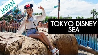 DISNEY LAND VLOG | A DAY AT TOKYO DISNEY SEA