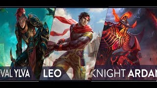 VAINGLORY 4.3 NEW HERO(LEO)/NEW RARE SKIN(YLVA & ARDAN)