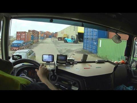 106. Egy nap Lacikával. A kamionos egy napja. 3.rész.