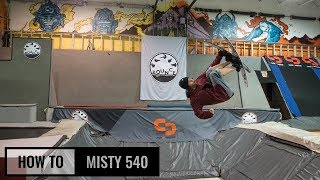 How To Misty 540 On Skis
