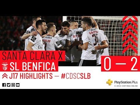 HIGHLIGHTS: CD SANTA CLARA 0-2 SL BENFICA