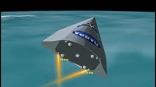DARPA Falcon HTV-2, hypersonic vehicle test program from 2011 - complete flight overview animation