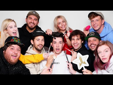 Makeup Relay Race Ft. David Dobrik & Vlog Squad
