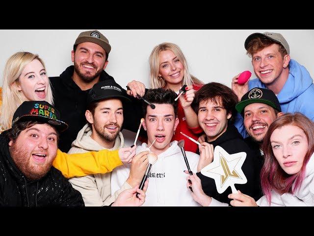 Makeup Relay Race Ft. David Dobrik & Vlog Squad