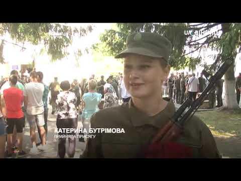 У військовій частині 3028 НГУ більше сотні нацгвардійців присягнули українському народові