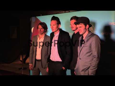 The Feeling at the Arqiva Radio Awards at Westminster Bri...