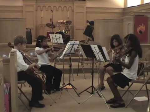Handel Water Music - III (Allegro) The Griff'n Girls Quartet
