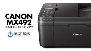 Canon MX492 Printer Review