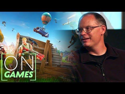 Tim Sweeney On The Magic Of Fortnite | BAFTA Games
