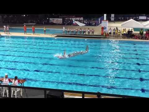 Juegos Bolivarianos 2017 - Natación sincronizada
