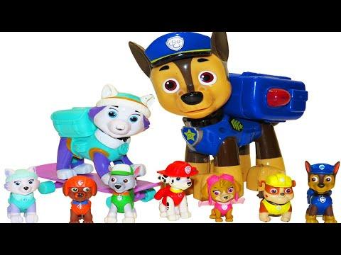 Учим цвета с щенячьим патрулём. Цветные яйца щенячий патруль. Видео для детей.