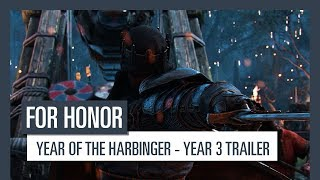 For Honor: Year of the Harbinger - Year 3 trailer