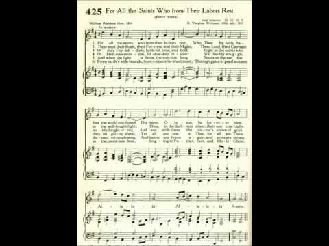 For All the Saints Who from Their Labors Rest (Sine Nomine)