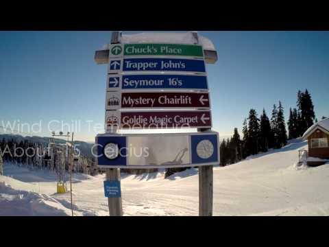 Mt. Seymour Skiing - January  2016