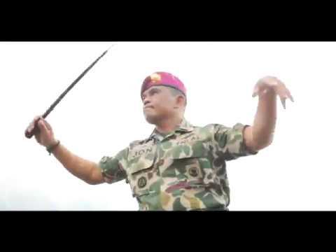 Seru! Video Maumere Ala Marinir TNI AL