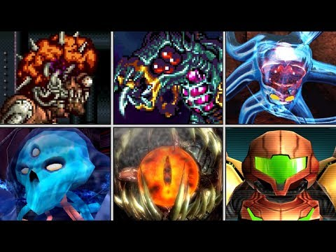 Evolution of Final Boss Fights in Metroid (1986 - 2017)