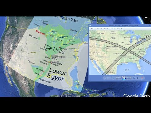 "Eclipses Collide at ""LITTLE EGYPT"" America! The Exodus Begins?"