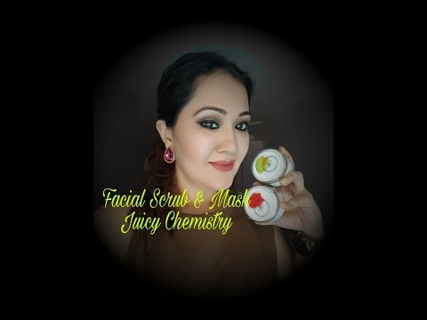 Facial scrub and Mask Juicy Chemistry