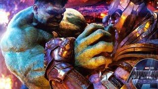 Hulk VS Thanos   Endgame Rematch Fight