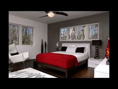 Red Accent Bedroom