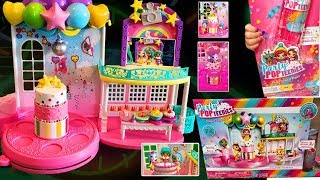 POPTASTIC PARTY PLAYSET+ DOUBLE SURPRISE POPPERS! KIDS PRETEND PLAY
