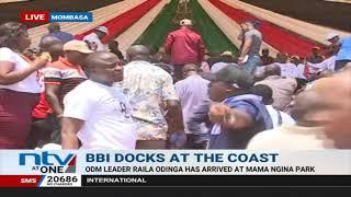 Raila, Kalonzo, Wetangula attend Mombasa BBI rally