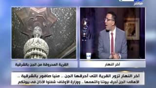 بالفيديو.. صبري عبادة يتحدى علاء حسانين: 'اتحداك تعمل حاجة فيا على الهواء'