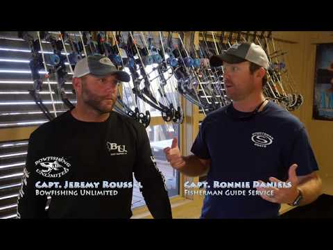 Bow Fishing with Bow Fishing Unlimited from Port Sulfur La with Captain Ronnie Daniels
