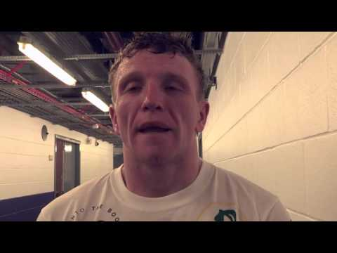Post fight interview with Tom Farrell
