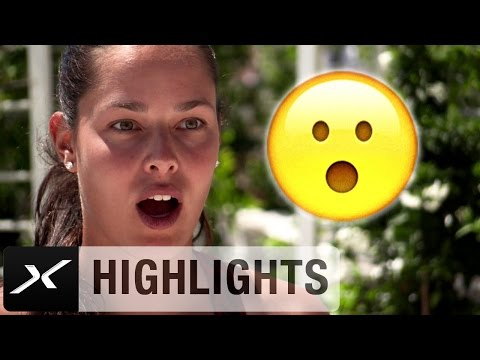 Lächeln bitte! Tennis-Beauties als Emoticons | Ivanovic, Sharapova, Bouchard | WTA Emoji-Challenge