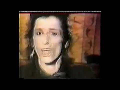 JOHNNY THUNDERS 'I Was Born To Cry' video-clip, from 'Copy Cats' album