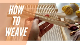 How to Weave | Weaטing for Beginners