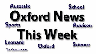 Oxford News This Week: 11-5-18