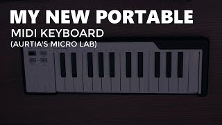 My New Portable Midi Keyboard Arturia's Microlab