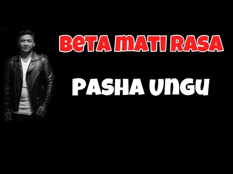 Beta Mati Rasa Cover Pasha Ungu