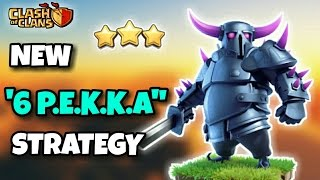 6 P.E.K.K.A CHALLENGE! | Th9 New 3 STARS Strategy??? | Clash Of Clans